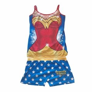 Wonder Woman Tank & Short Set Size Large